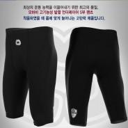 모하비 발열 언더레이어 5부 팬츠 (blk)-기모