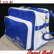 [신제품] 개인 에나멜 가방 화이트/블루, 화이트/레드