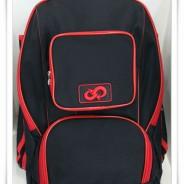세인트볼파크 보급형 백팩 검정/빨강 배색 (쿠폰할인제외상품)