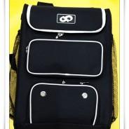 고교선수들이 호평하는 신형 백팩 직사각형 블랙/아이보리 (쿠폰할인제외상품)
