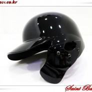 [검투사] 국산 경량 헬멧 블랙 유광 (우타자용) 30% 할인 [쿠폰 할인 제외 상품]