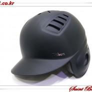 윌슨 조절식 헬멧 블랙 무광 좌귀(우타자용)