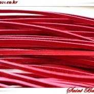일본산 가와구찌 끈피 빨강, 검정, 빨간단면, 검정단면